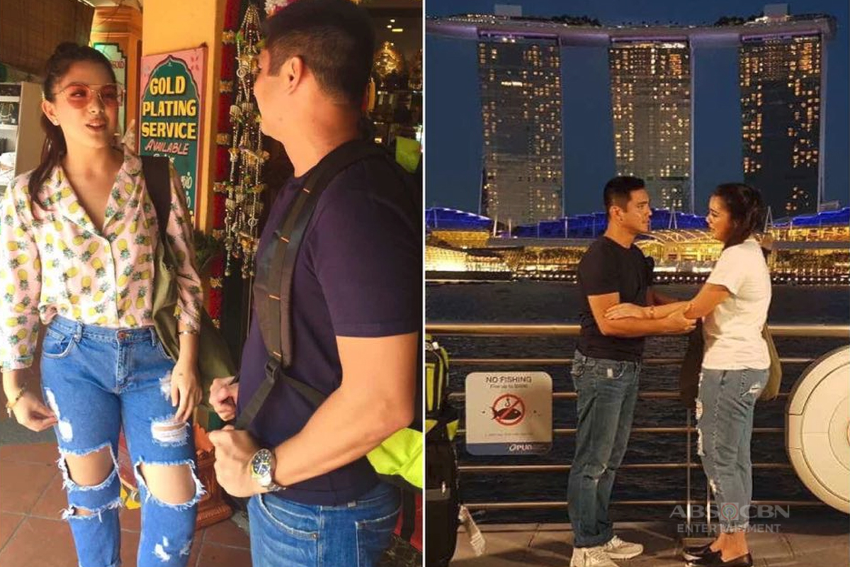 Behind-The-Scenes: Pasilip sa taping ng #IMSeaman sa Singapore