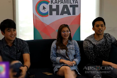 Jerome, Barbie and Enzo answer #NoFilter questions
