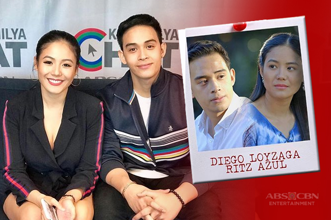 Diego Loyzaga and Ritz Azul team up for the first time on television in Ipaglaban Mo