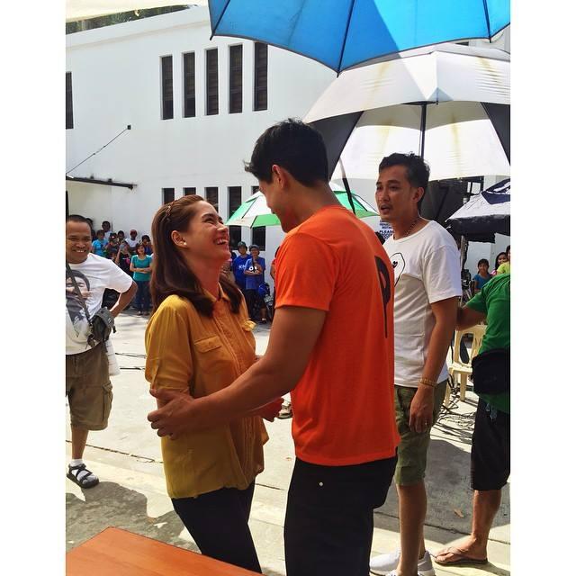 "PHOTOS: Ipaglaban Mo's first anniversary offering ""Nakaw na Sandali"" starring Daniel Matsunaga and Erich Gonzales"