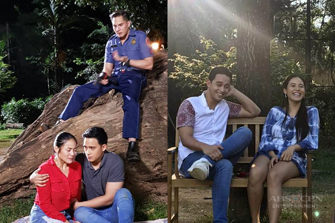 "Behind-The-Scenes: Diego at Ritz, magtatambal sa Ipaglaban Mo ""Sumpaan"" Episode"
