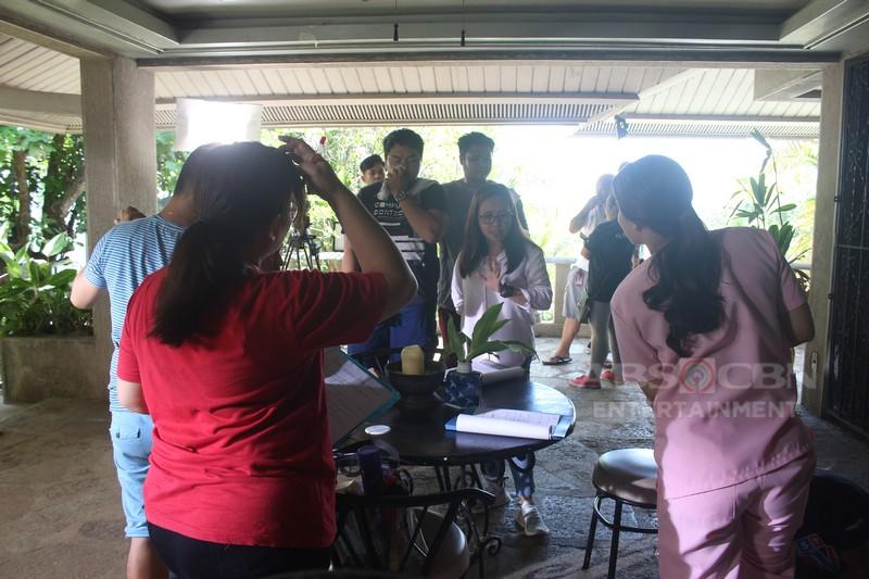 IN PHOTOS: Mga kaganapan sa likod ng kamera sa #IMCaregiver