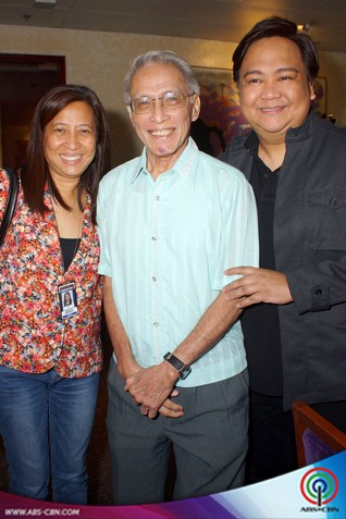 "Atty. Jose Sison and Jopet Sison Contract Signing for ""Ipaglaban Mo"""
