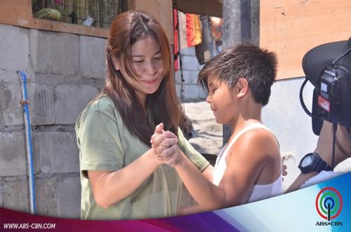"""Behind-the-scenes PHOTOS: """"Kailan Mo Ako Mapapatawad"""" taping"""
