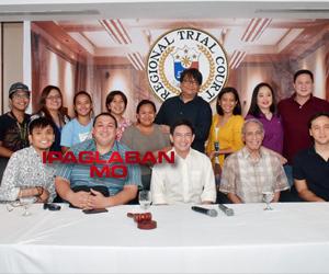 LOOK: Ipaglaban Mo Presscon with Direk Eric Quizon, Lino Cayetano, Ricky Rivero & Erick Salud