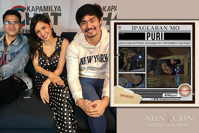 Joem, Roxanne and Ron talk about the challenges in portraying their roles in Ipaglaban Mo