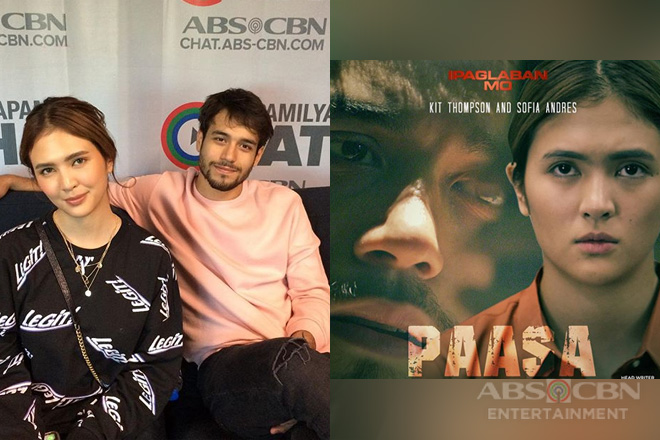 "Sofia and Kit talk about their roles in Ipaglaban Mo ""Paasa"""