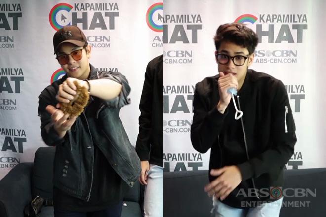 Donny Pangilinan vs Julian Trono in Kapamilya Chat's ACThingan Challenge